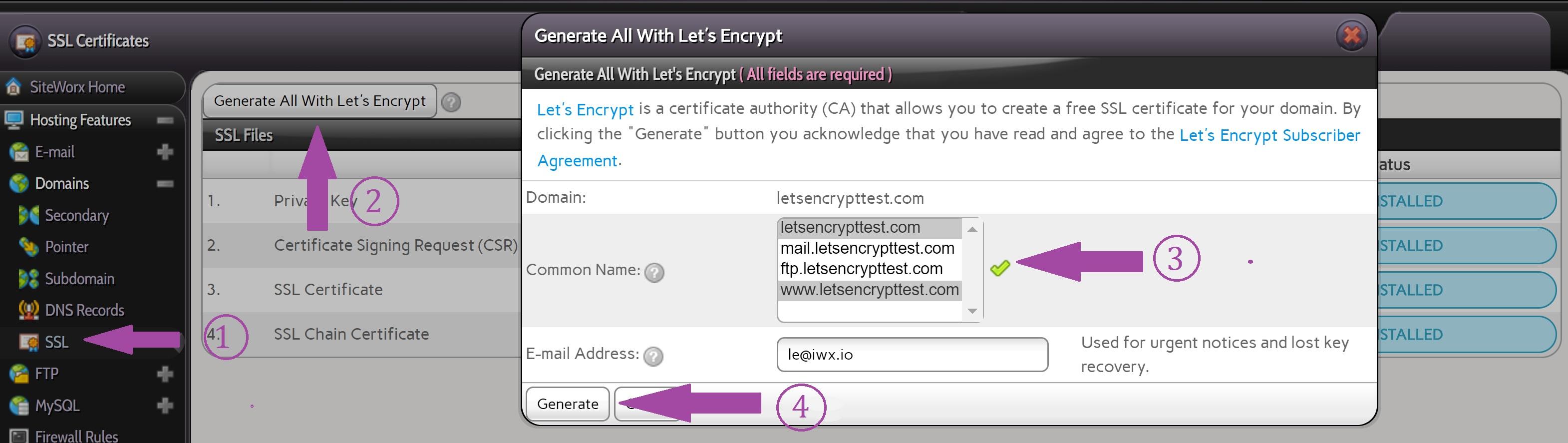lets encrypt 3