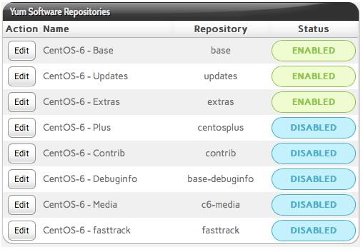 InterWorx OS Versions