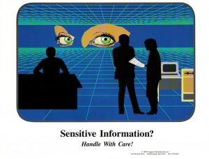 sensitive info